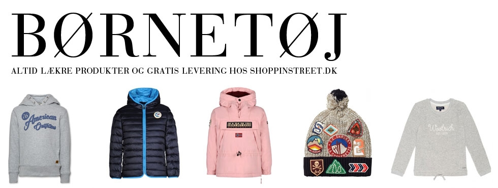 Børnetøj - tøj og sko Hornbæk Butikker shopping street- shoppinstreet.dk - ShoppinStreet.dk